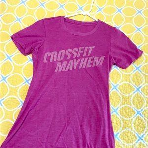 CrossFit Mayhem souvineer tee